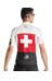 assos SS.suissefedJersey_evo7 Jersey korte mouwen Heren rood/wit